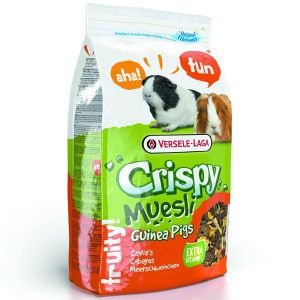 Crispy Muesli Guinea Pigs para cobayas (1kg)