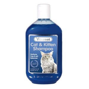 Vitacoat Cat & kitten Shampoo,  Champú para gatos y gatitos  250 ml