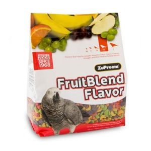 Pienso Zupreem Multifrutas para loros medianos (950g)