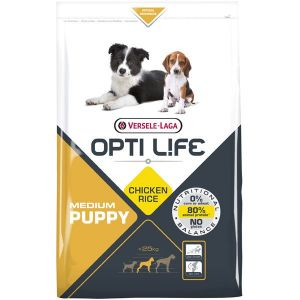 Pienso Opti Life Puppy Medium 12.5kg