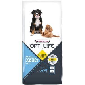 Pienso Opti Life Maxi Medium Adult Light 12.5kg