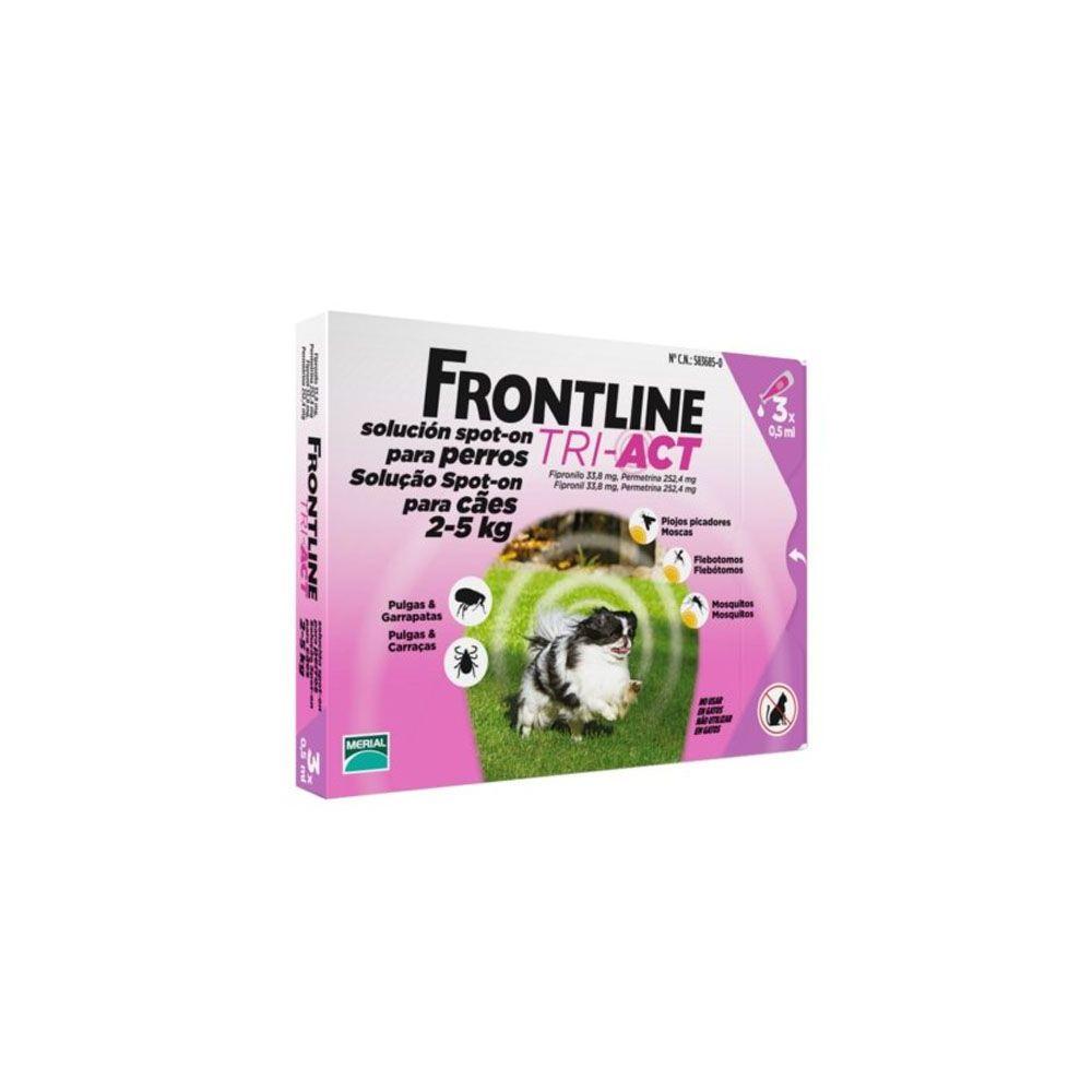 Frontline Tri-Act antiparasitario externo en pipetas (3 uds)