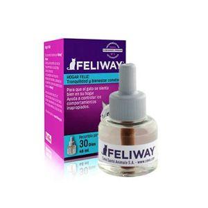 Feliway Recambio 30 Dias 48 ml Control de Estres Feromonas relajantes para gatos