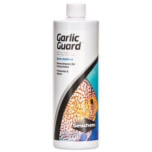 Seachem Garlic Guard Potenciador del sabor de alimentos para peces 250 ml