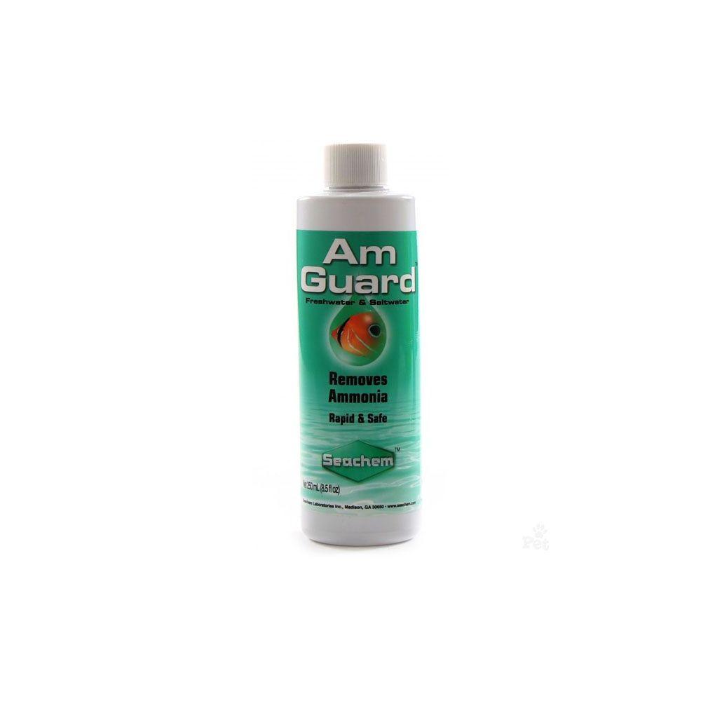 Seachem AmGuard Neutralizador de Amoniaco para Acuarios de Agua Dulce y Salada 100 ml