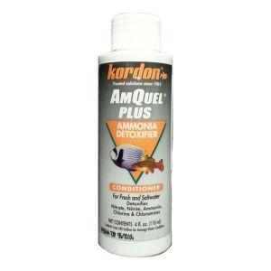 Kordon Amquel Plus, acondicionador de acuarios de agua dulce y marinos
