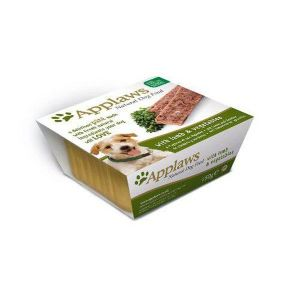 Applaws pate para perros sabor a Cordero en tarrina de 150 gr. Comida Húmeda 100% Natural Super premium