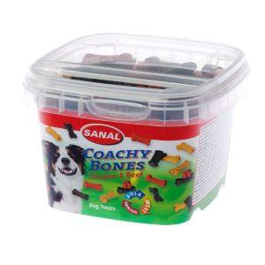 Sanal Coachy Bones Snack para Perros de Pollo y Ternera 100 Gr