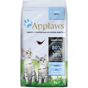 Applaws kitten Pienso seco para cachorros de gato  con pollo y vegetales 2 kg