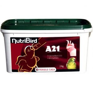 Versele Laga Nutribird A21 Papilla para la cria a Mano de Pajaros Bebe 800 GR