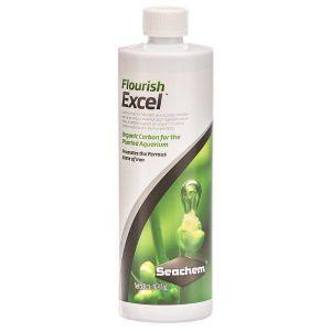 Seachem Fluorish Excel, Abono liquido que aporta Carbono Organico CO2