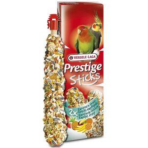 Prestige Sticks de semillas con frutas para agapornis, cotorras y ninfas (2x70g)