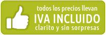 Precios IVA incluido